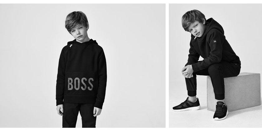 odzież chłopięca Hugo Boss