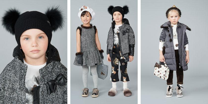 zimowe ubrania dziecięce, monnalisa